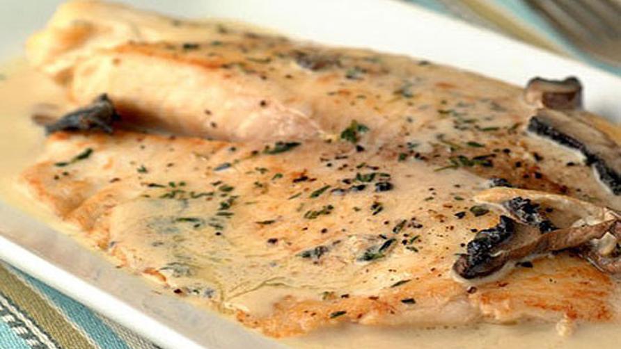 Диетическое блюдо-скумбрия, запеченная в йогурте