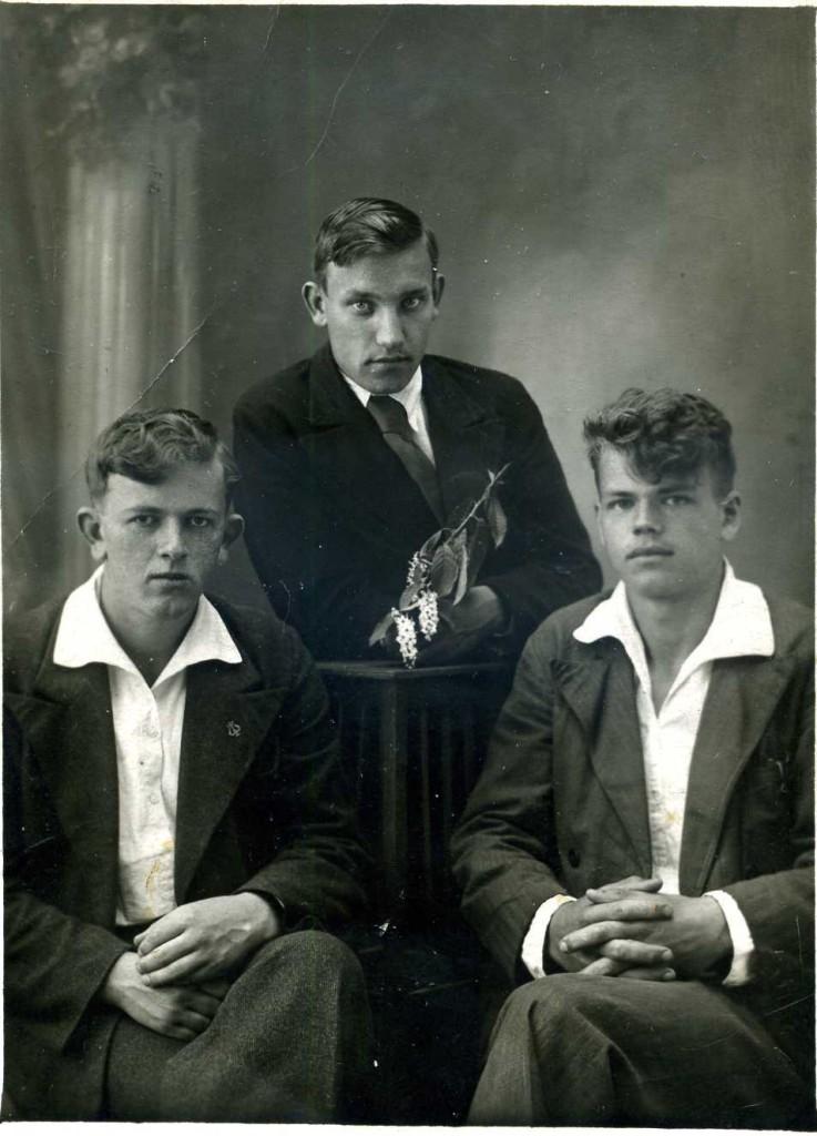 1940 г. Школьные друзья