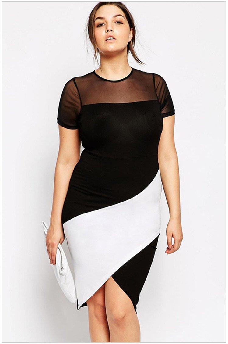 Фасоны платьев для полных женщин — тонкости выбора