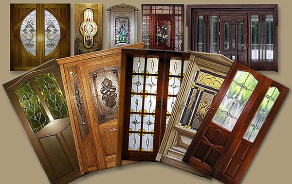Невероятно стильные витражные двери