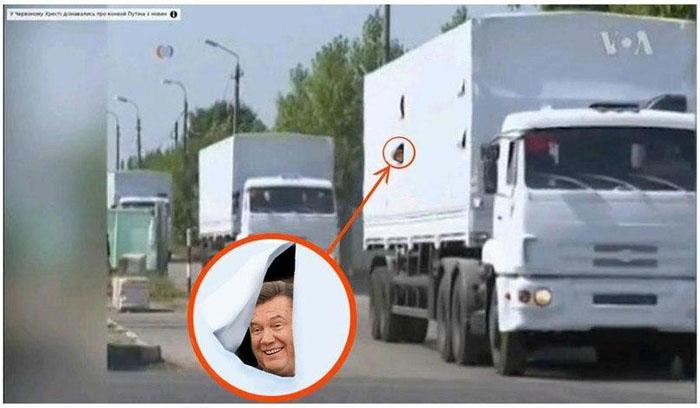 Порошенко предполагает три сценария развития событий с гуманитарным грузом РФ