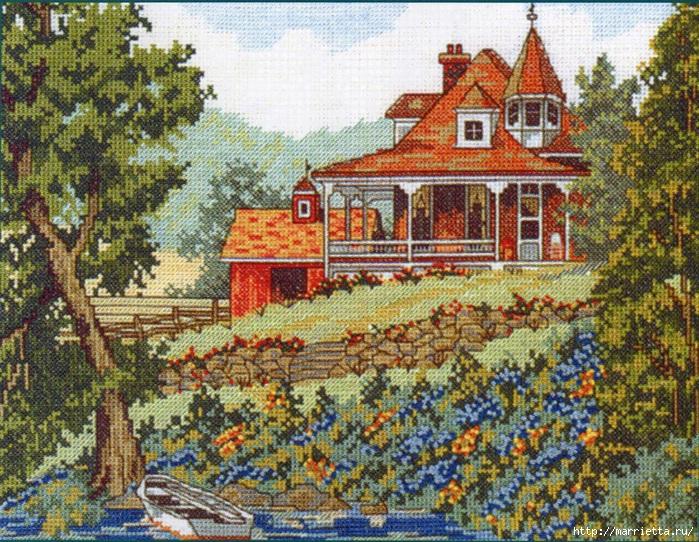 Вышивка для тех, кто мечтает о домике в деревне) (12) (700x542, 439Kb)