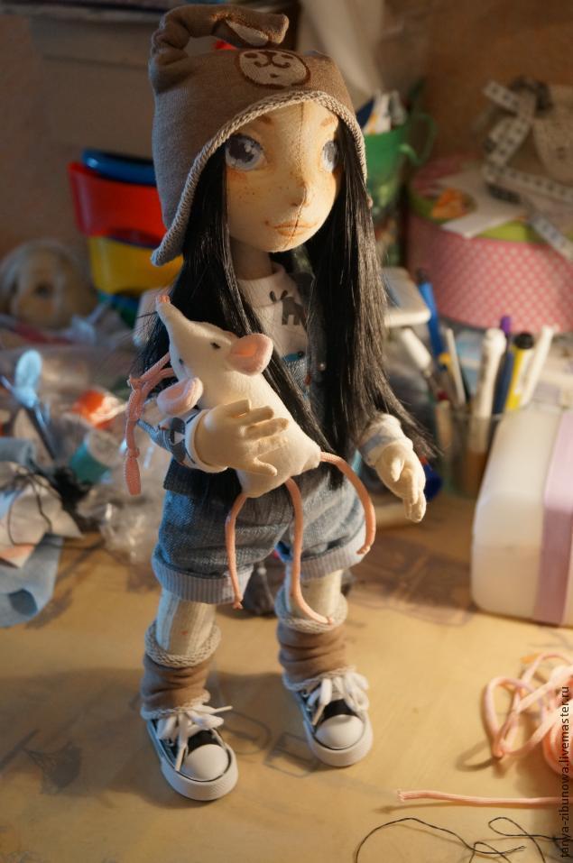 Набивная кукла своими руками мастер класс