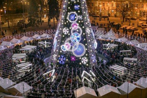 В Вильнюсе установили рождес…