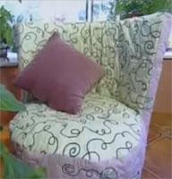 Как сделать кресло из шин (видео урок)