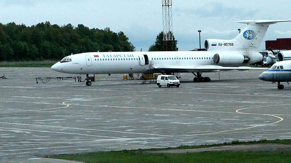 Ту-154М авиакомпании «Татарстан» выставлен на продажу по цене автомобиля