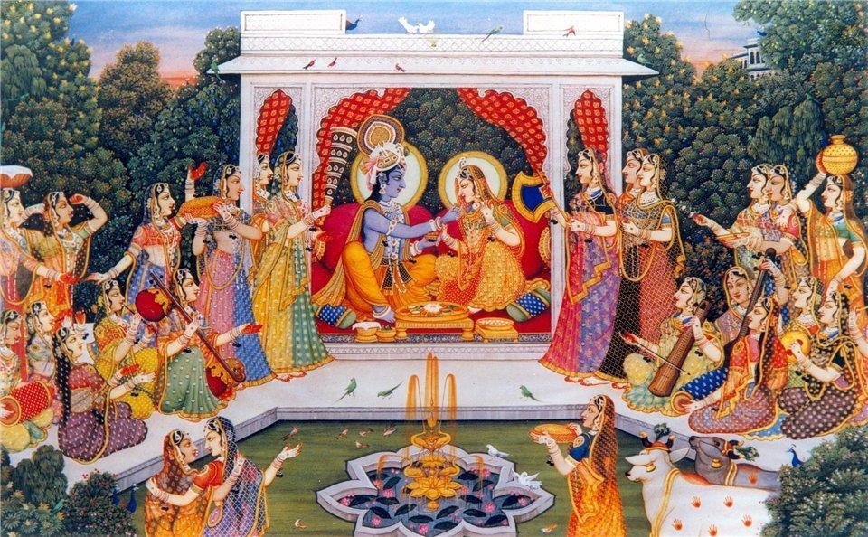 Кришна и Радхарани
