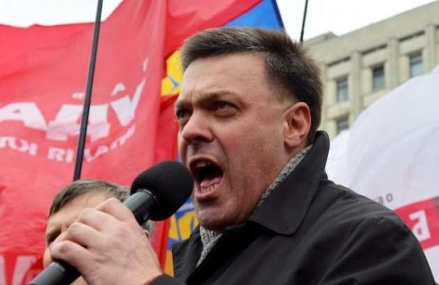 В России ответили Тягнибоку на призыв разделить «Московскую империю»