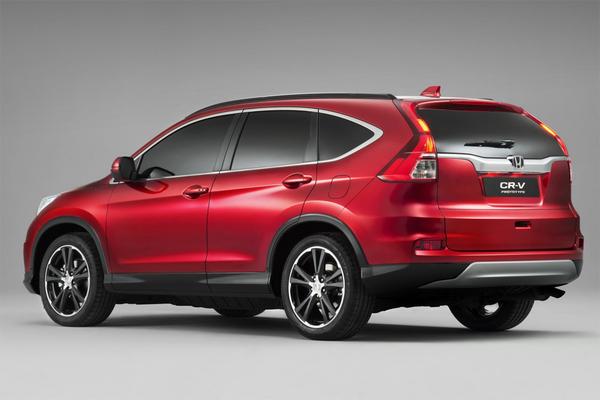 Honda представила европейскую версию кроссовера CR-V