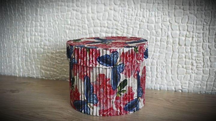 Прекрасная упаковку для подарка из картонной коробки