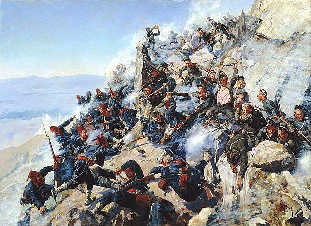 140 лет героической обороне Шипки