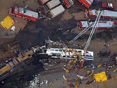 25 пассажиров поезда погибли…