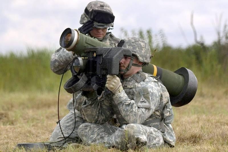 Противотанковый ракетный комплекс FGM-148 Javelin (США)