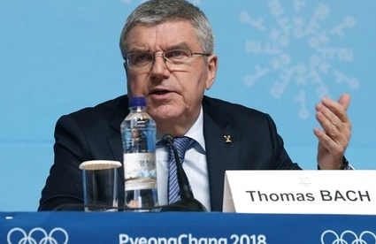 Бах объяснил решение не возвращать России флаг перед церемонией закрытия