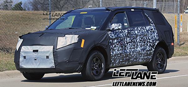 Обновленный Ford Explorer получит новый двигатель