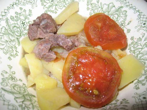 Мясо с овощами «По-гречески»