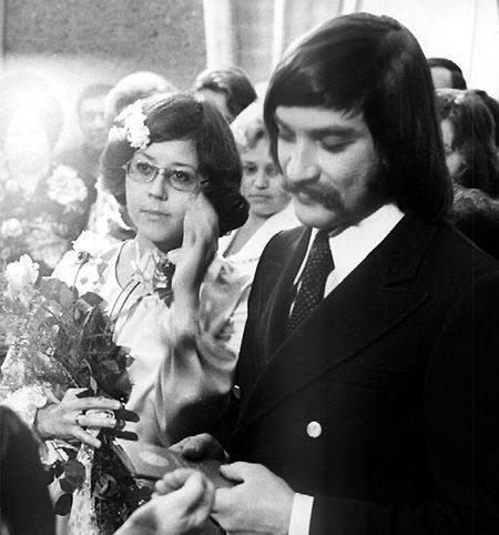 Редчайшие свадебные снимки наших знаменитостей