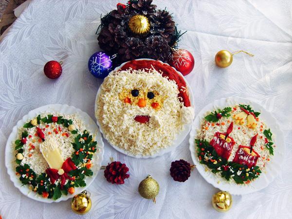 Украшения блюд на новый год 2016 своими руками фото
