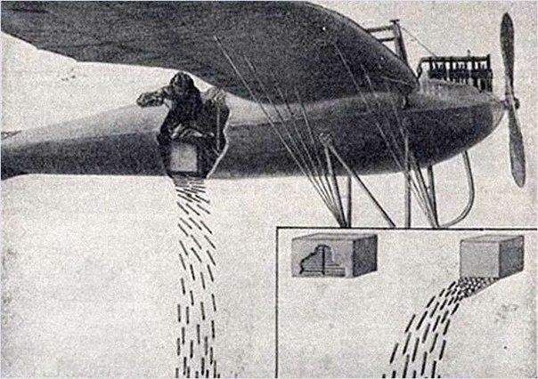 Флешетта - малоизвестное оружие Первой мировой войны