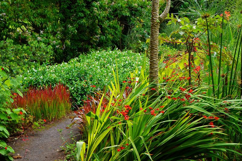 Сады Ayrlies, Новая Зеландия