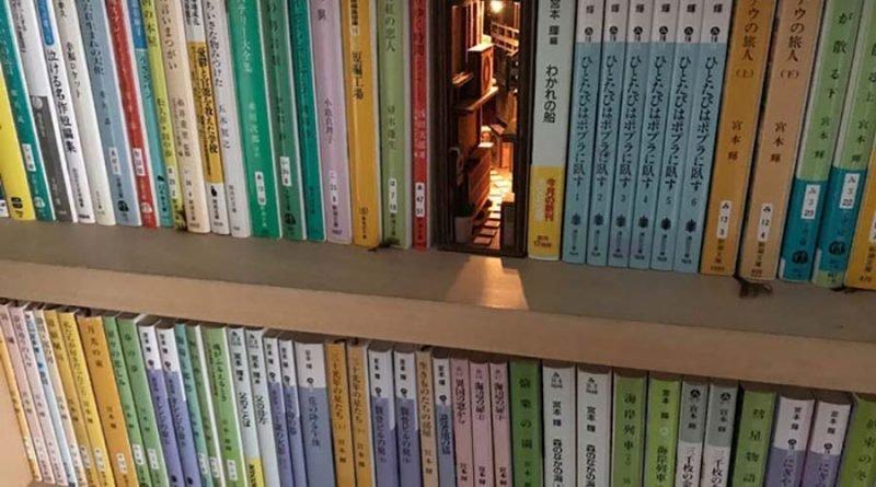 Японский художник создаёт кн…