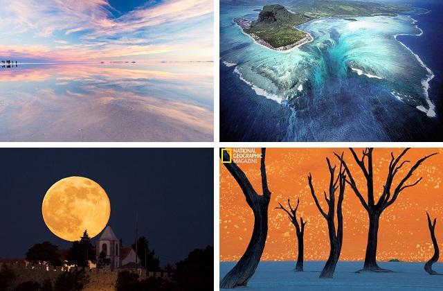 Оптические иллюзии природы