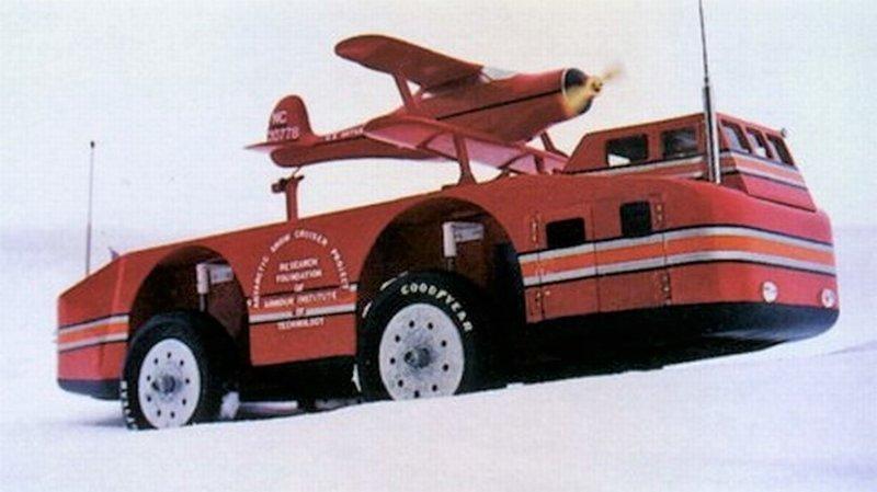 Американский вездеход для Антарктиды «Снежный крейсер»