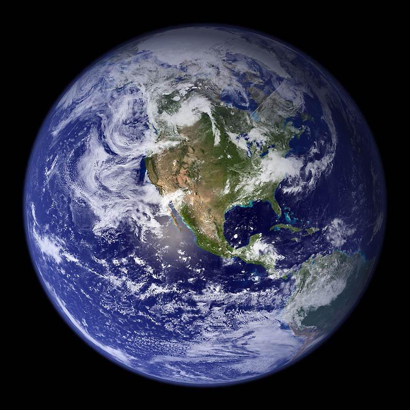 2169 10 видов Земли из космоса