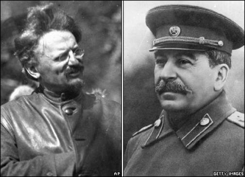"""Троцкий и Сталин """" Политическое обозрение"""