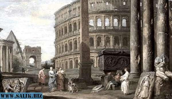 Потоп 17, 19 века был ли он на самом деле: картины руинистов