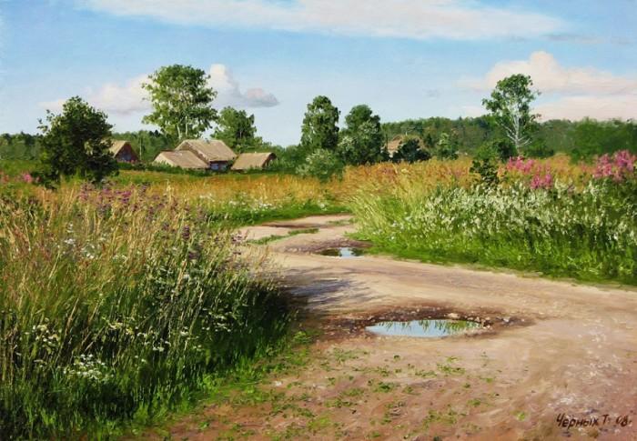 сельский пейзаж Татьяна Черных – 08