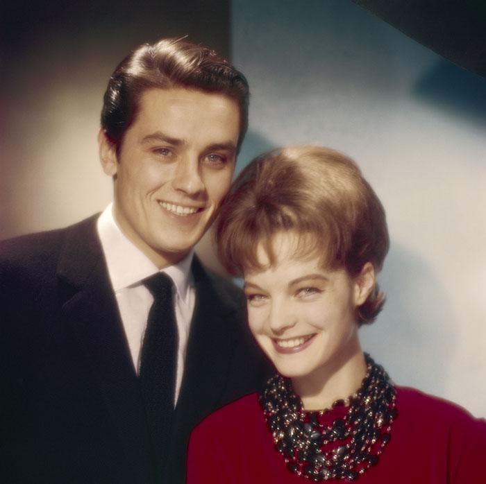 Ален Делон (Alain Delon) и Роми Шнайдер (Romy Schneider) в фотосессии Уолтера Карона (Walter Carone) (1961), фото 5
