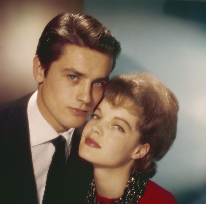 Ален Делон (Alain Delon) и Роми Шнайдер (Romy Schneider) в фотосессии Уолтера Карона (Walter Carone) (1961), фото 4