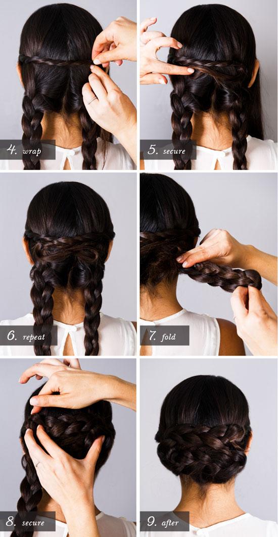 Красивые легкие и быстрые прически на длинные волосы видео - 26