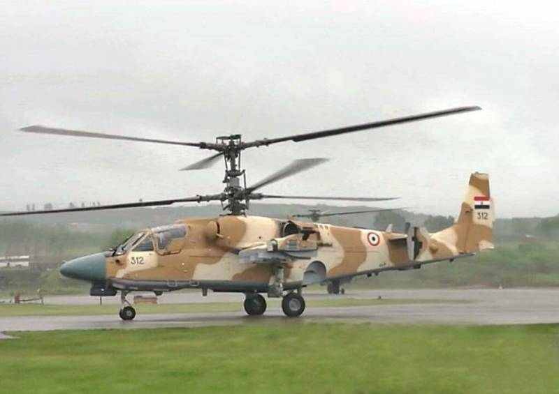 В 2017 году Египет получит 15 Ка-52, МО РФ – 14 ед.