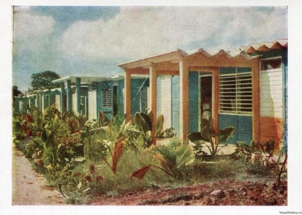 Революционная Куба.  Ретро открытки 1964 года.