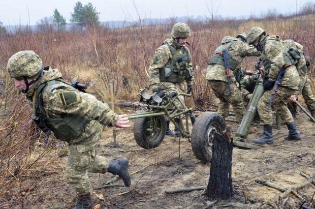ДНР: украинские силовики предприняли попытку прорыва на севере Донбасса