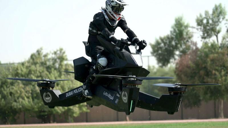 Полиция Дубая пересядет на л…