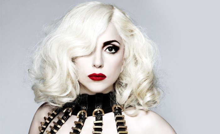 Эпатажная Леди Гага.  Фото: vladtime.ru.