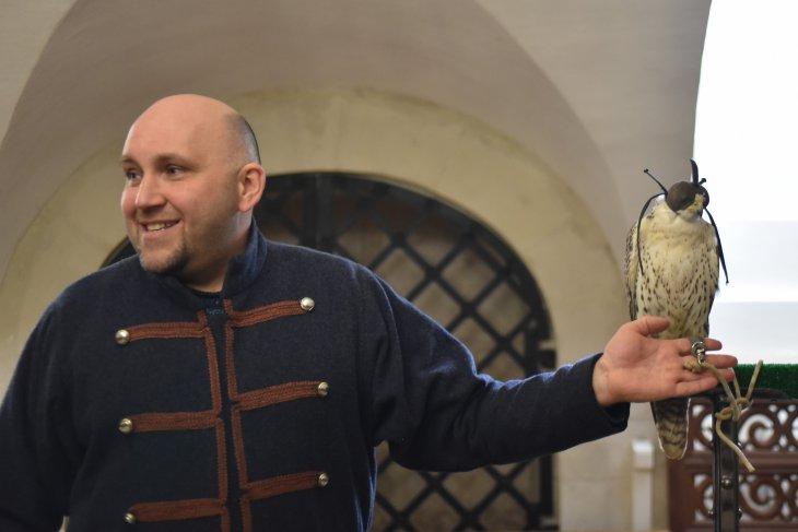 Как приручить сапсана: охота в стиле Царя всея Руси