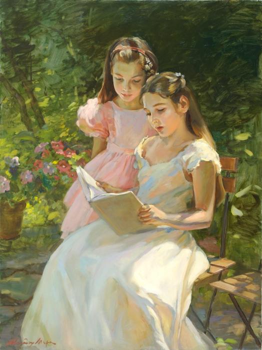 В саду. Автор: Молодых Мария.