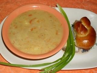 Геркулесовый суп с двумя секретами
