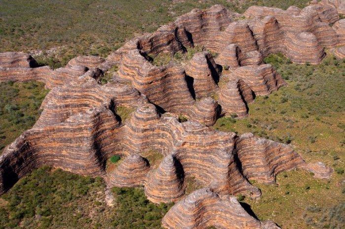 Необычный хребет Бангл-Бангл в Австралии