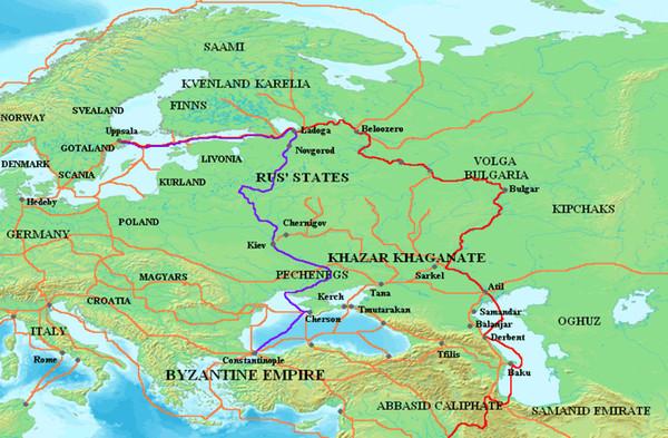 Образование Российского государства и Волжской Булгарии
