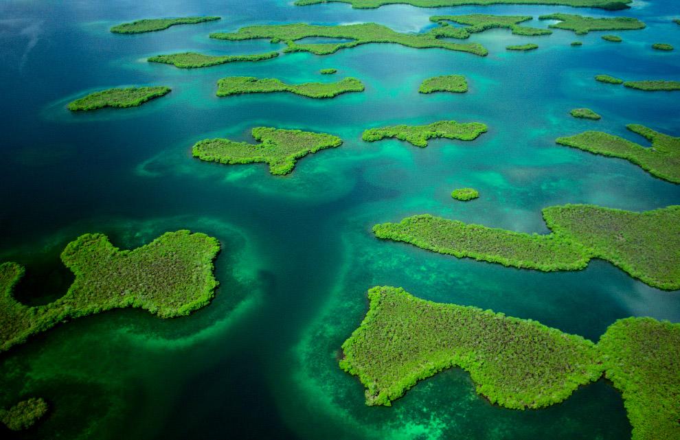 Группа островов в Карибском море