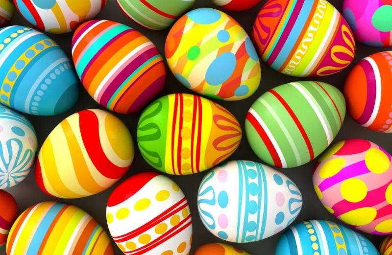 покраска яиц на пасху
