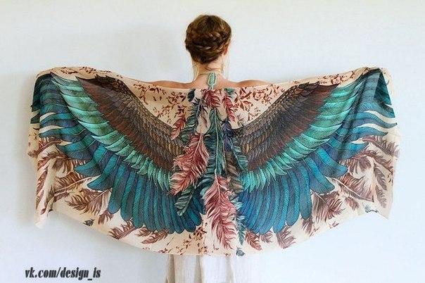 Эти шарфы подарят вам крылья