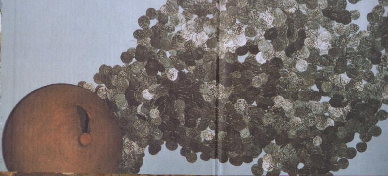 Обзор чекана золотоордынского монетного двора Мохши.
