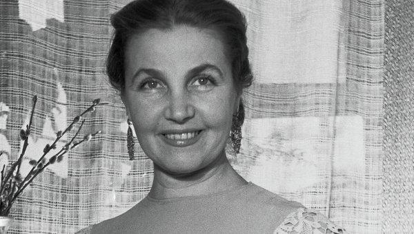 Актриса Тамара Макарова