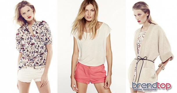 модные летние шорты женские